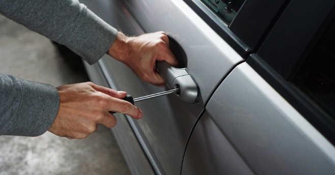 stolen car thief
